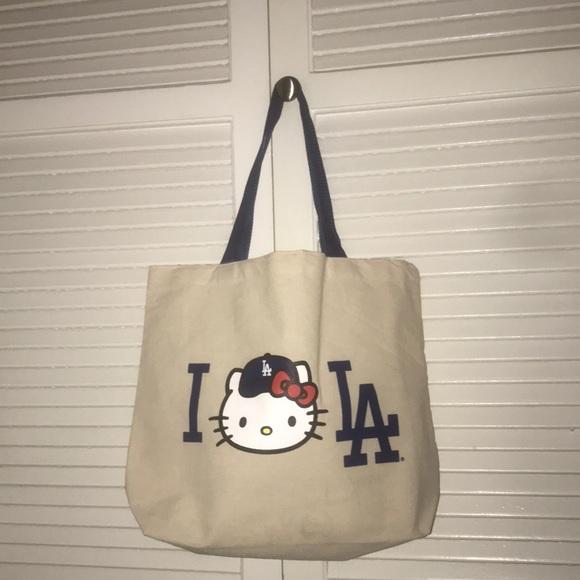 81f597f538f Hello Kitty Bags   Brand New La Dodgers Tote Bag   Poshmark